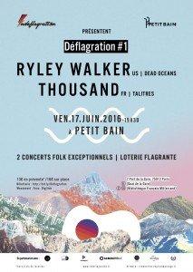 Deflagration-Ryley-Walker-Thousand-Concert-Petit-Bain-Affiche