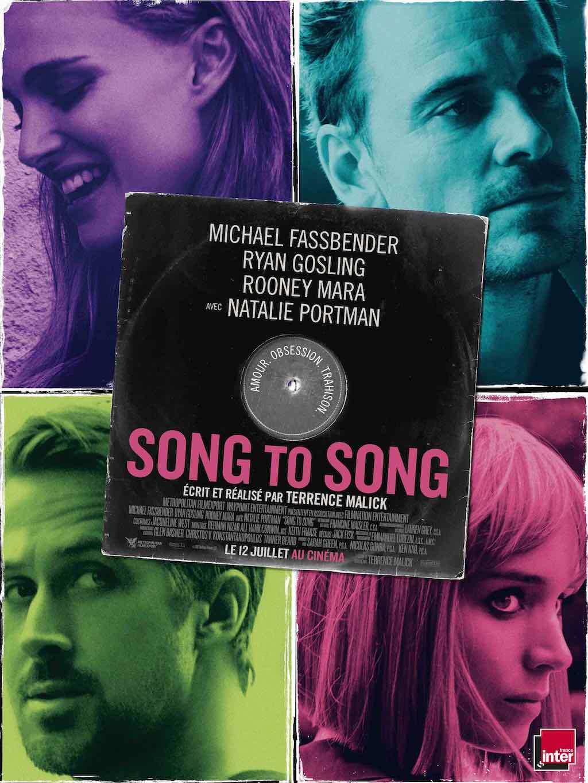 Affiche Song To Song Terrence Malick film au cinéma le 12 juillet - Concours places et affiches à gagner
