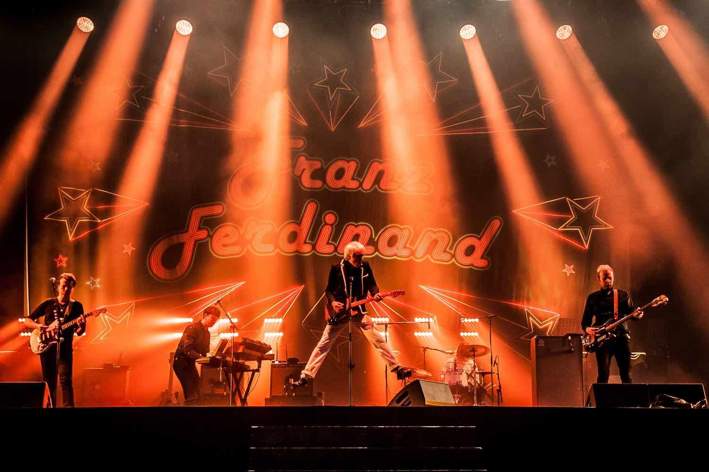 Franz Ferdinand en live au Festival Rock En Seine 2017
