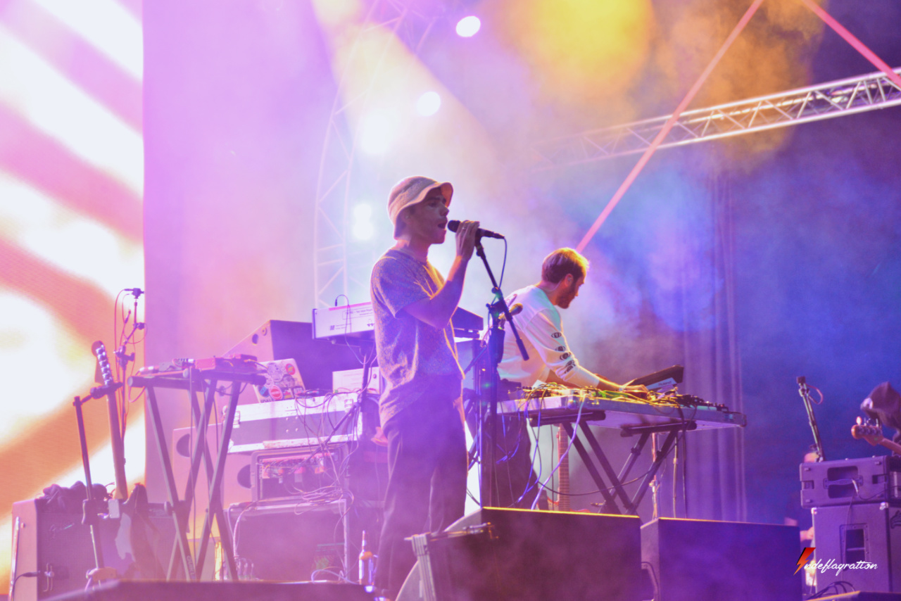 Jagwar Ma en concert au Sziget Festival 2017 à Budapest