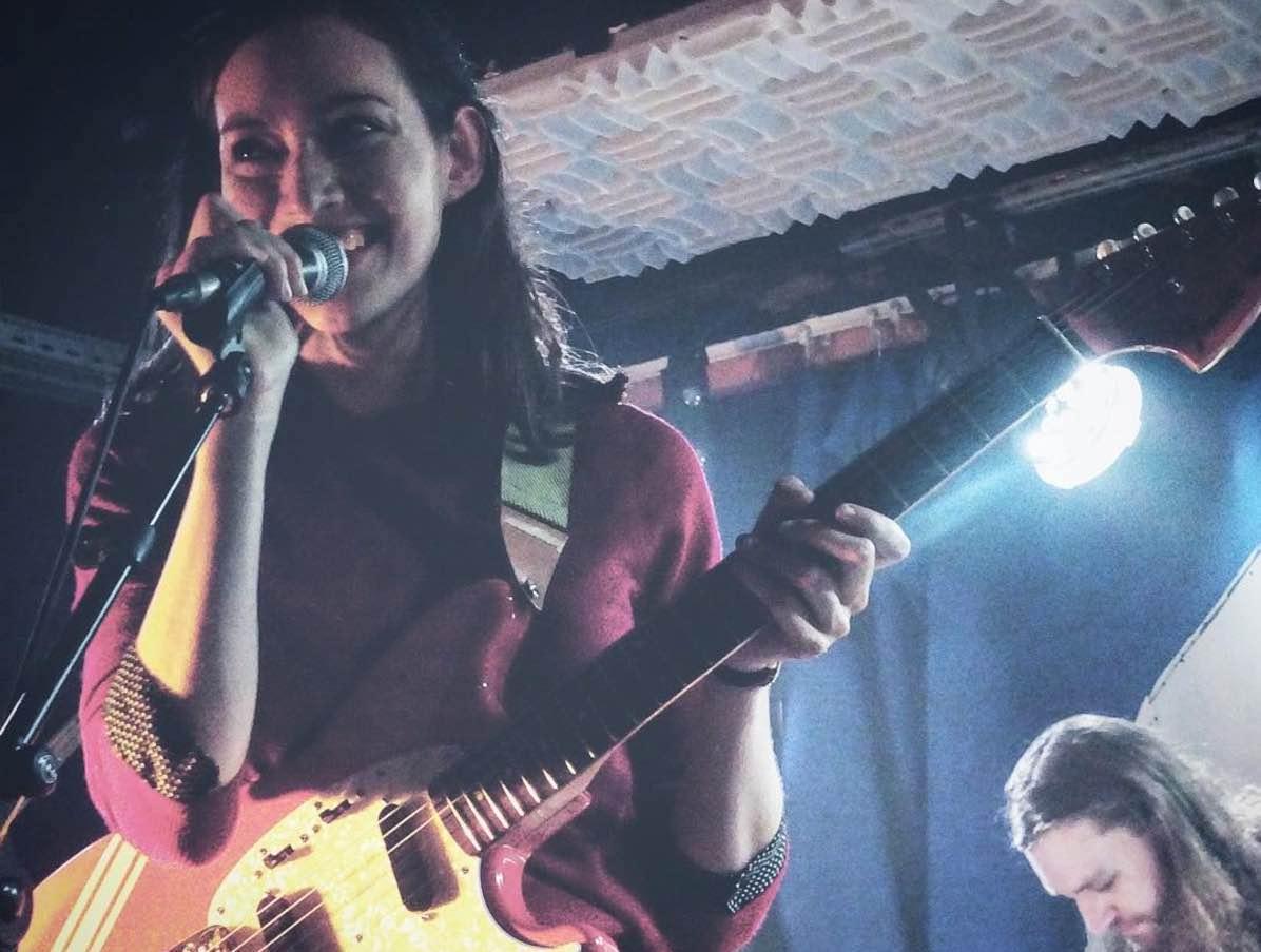 Fazerdaze en concert au Pop-Up du Label à Paris en septembre 2017