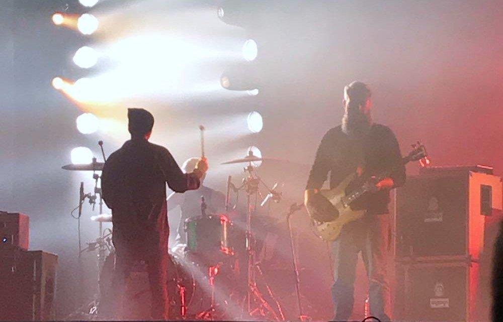 Mogwai en concert au Grand Rex à Paris en octobre 2017, post-rock