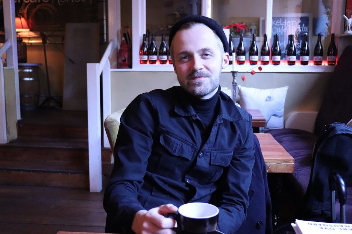 Erki Pärnoja, Estonian Male Artist of the Year in interview for Indeflagration in Groeningen in 2019
