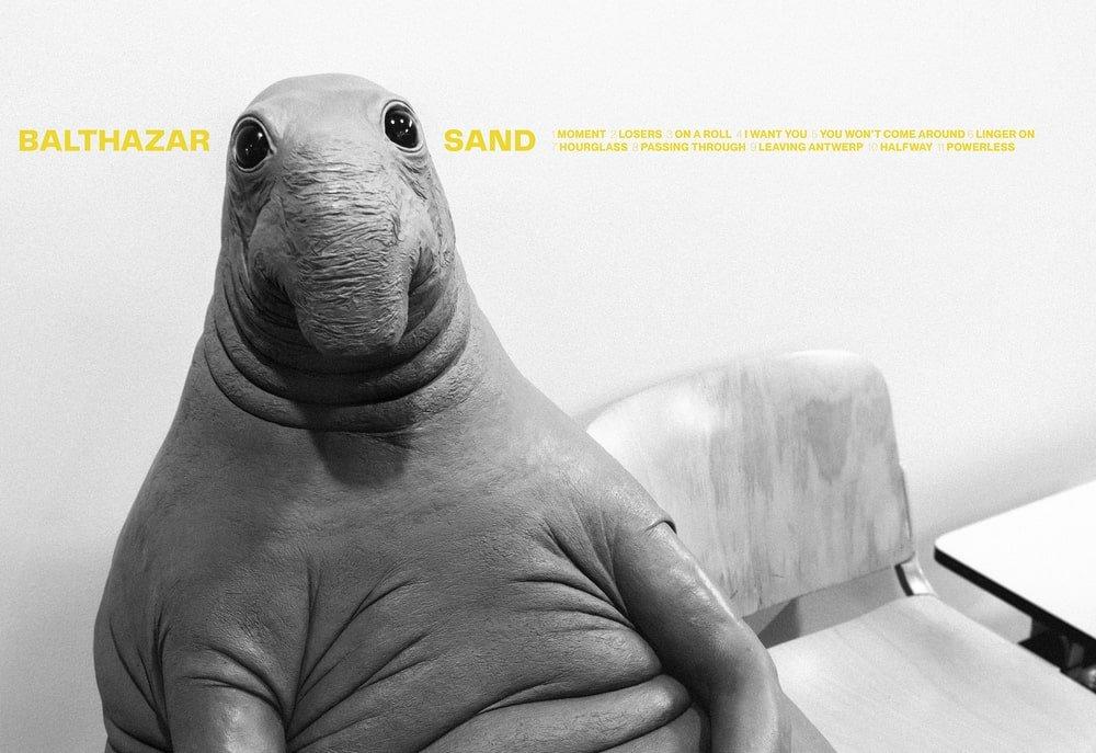 La pochette du nouvel album Sand de Balthazar